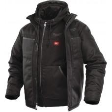 Куртка 3-в-1 с электроподогревом MILWAUKEE M12 HJ 3IN1-0 (S) 4933451621