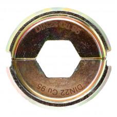 Матрица для обжимного инструмента MILWAUKEE DIN22 Cu 95 4932451749