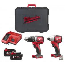 Набор MILWAUKEE M18 BLPP2A-502C 4933448720