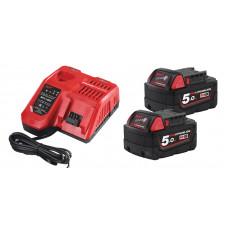 Комплект аккумулятор и зарядное устройство MILWAUKEE M18 NRG-502 4933459217
