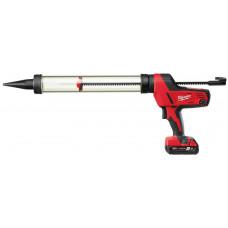 Пистолет для герметика MILWAUKEE C18 PCG/600T-201B 600 мл 4933441808