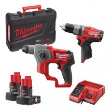 Набор MILWAUKEE M12 CPP2B-402C 4933447479