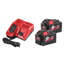 Комплект аккумулятор и зарядное устройство MILWAUKEE M18 NRG-902 4933451422