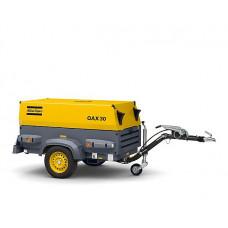 Передвижной дизельный генератор на шасси Atlas Copco QAX 30