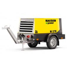 Передвижной компрессор с электро двигателем Kaeser Kompressoren М27E