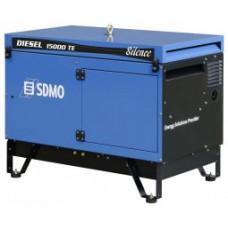 Портативный генератор SDMO DIESEL 15000 TE AVR SILENCE с АВР