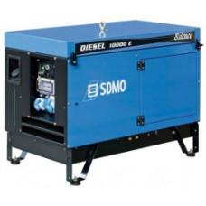 Портативный генератор SDMO DIESEL 10000 E AVR SILENCE