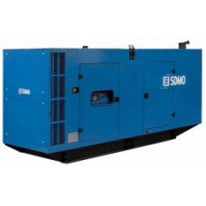 Дизельный генератор SDMO D830IV в кожухе с АВР