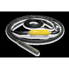Компоненты высокочастотного глубинного вибратора со встроенным преобразователем Wacker Neuson IRflex 38/230/10
